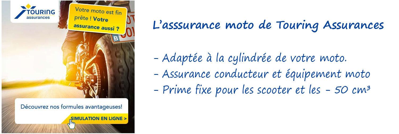 Assurance moto Touring Assurances