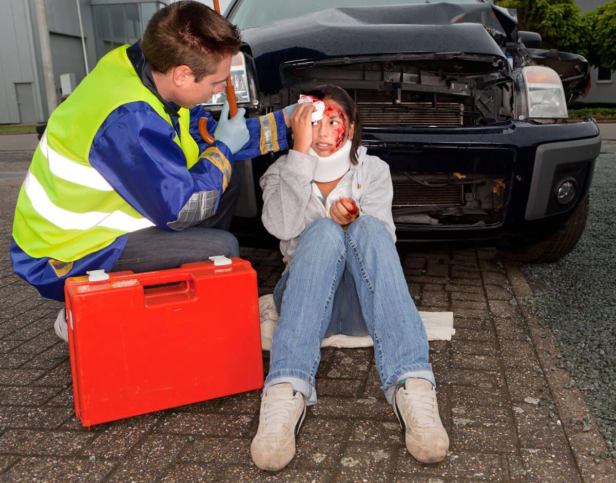 Dédommagements en cas d'accident de la route