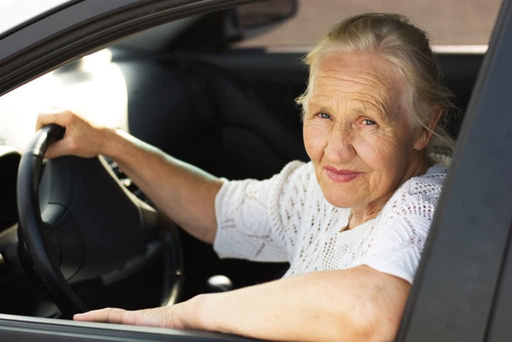 Assurance auto pour senior