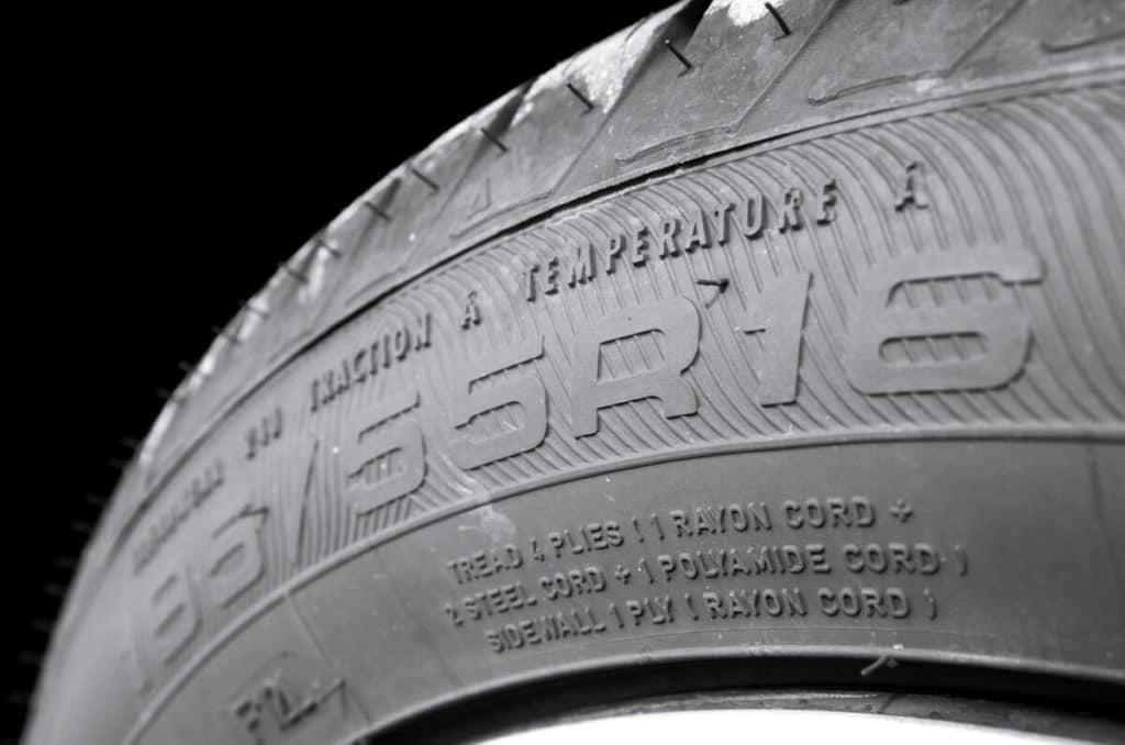 dimensions des pneus à acheter