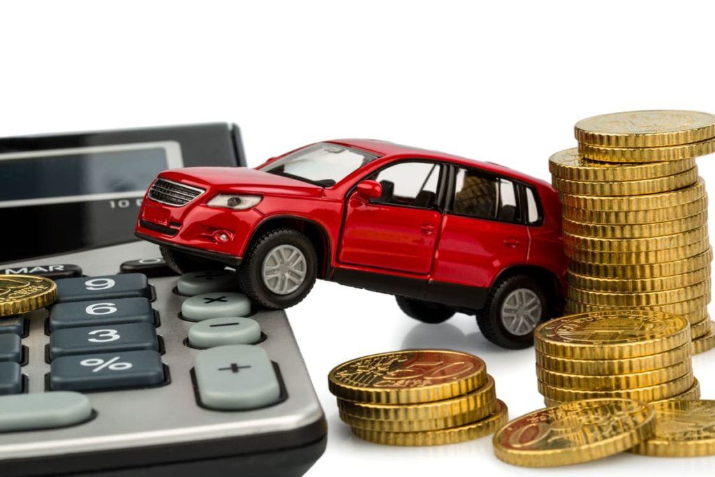 Frais d'achat d'une voiture