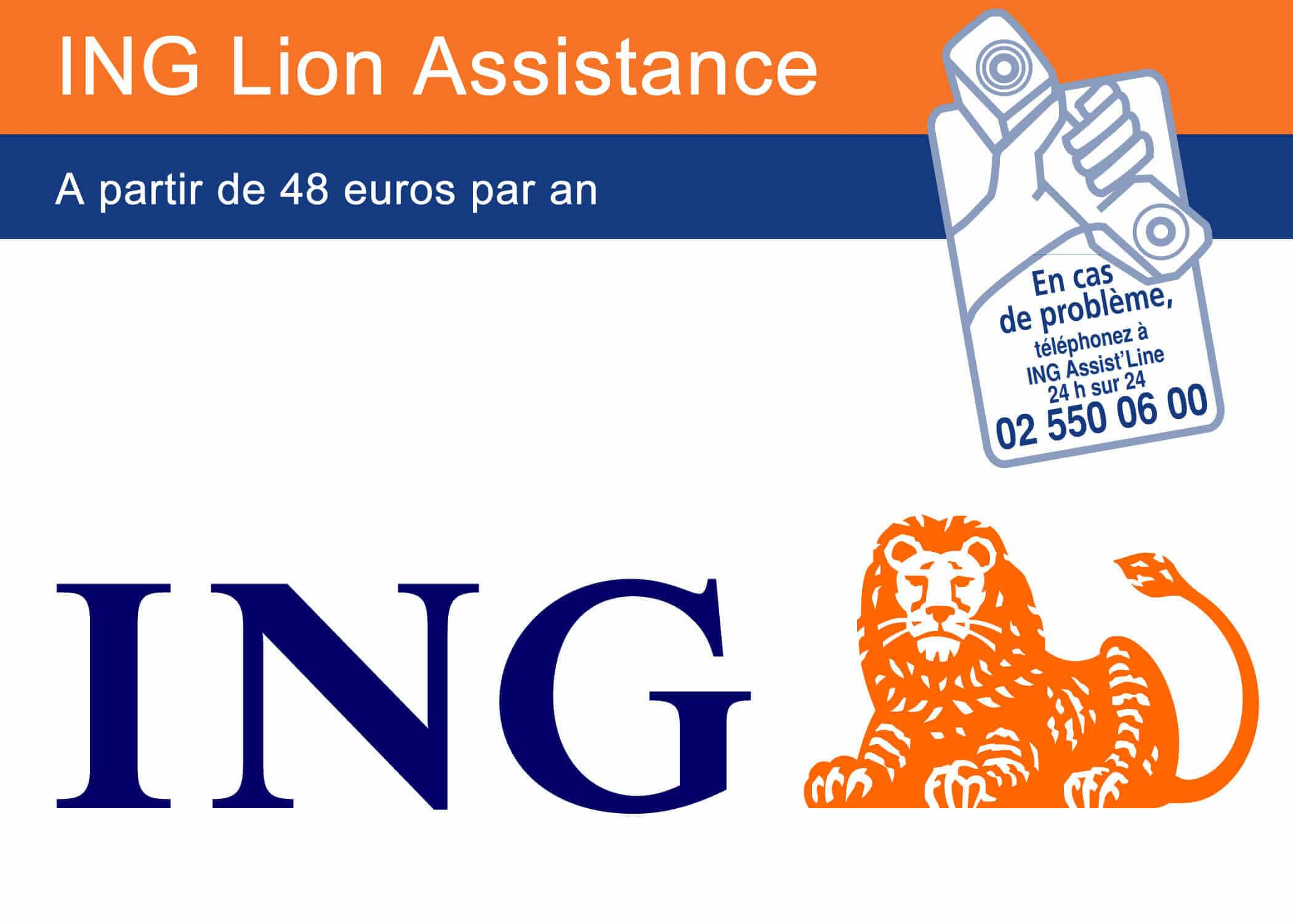ING assistance à partir de 48 euros par an