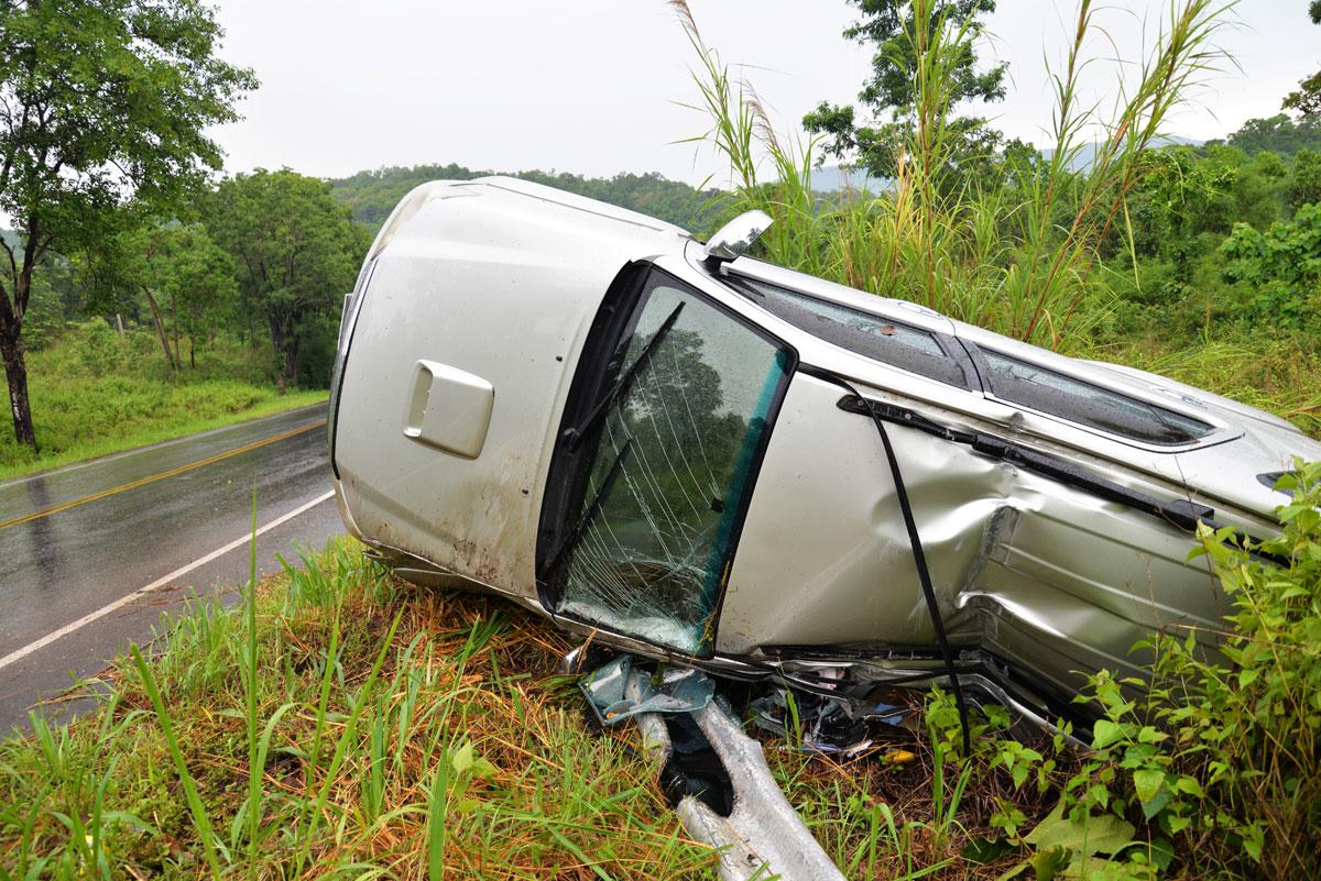 Sinistre total ou perte totale en cas d'accident