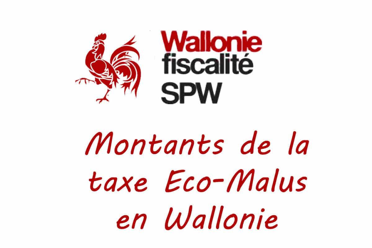 taxe Eco-Malus en Wallonie